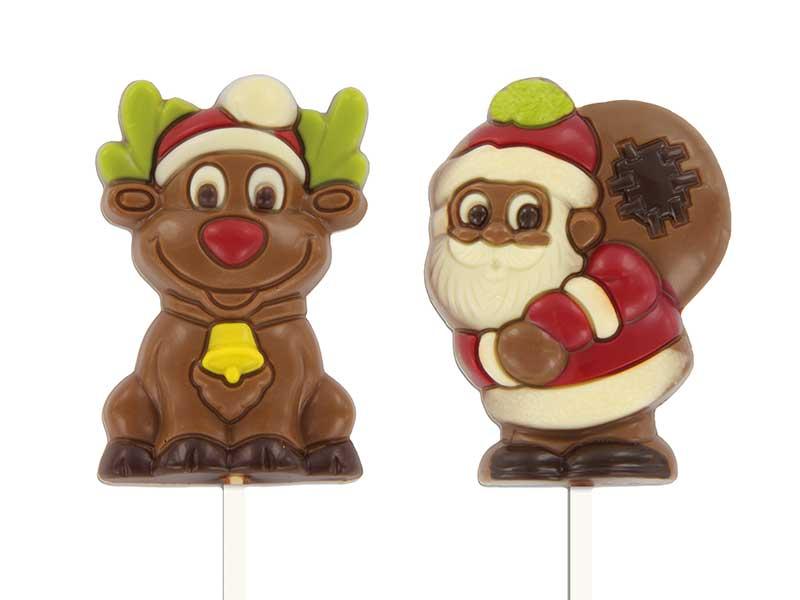 Lolly kerstman /rendier 28st