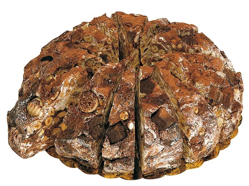 Nougat taart chocolade 3,8kg